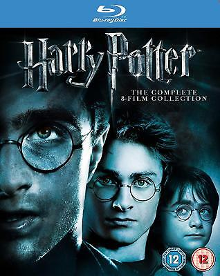 Harry Potter The Complete 8 Film Collection 2011 Brand New And Sealed Uk Blu-Ray