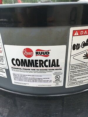 Rheem Commercial water heater 50 gallon 3 Phase