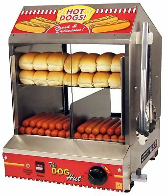 Paragon 8020 Hot Dog Hut Steamer Merchandiser for Professional Concessionaire...