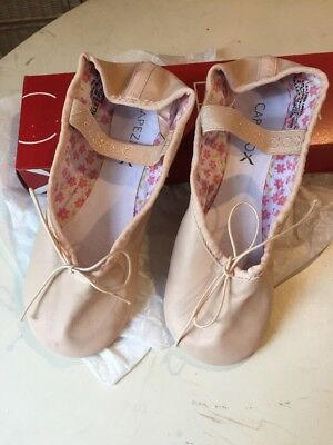 Capezio Daisy Leather Ballet Shoes - Pink - NEW - child & adult sizes