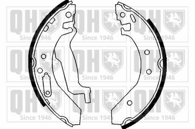 MINTEX REAR AXLE BRAKE SHOES SET FORD FOCUS B-MAX MFR727 REAL IMAGE OF PART