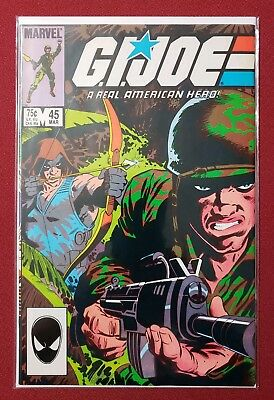 G.I. Joe, A Real American Hero #45 (March 1986, Marvel)