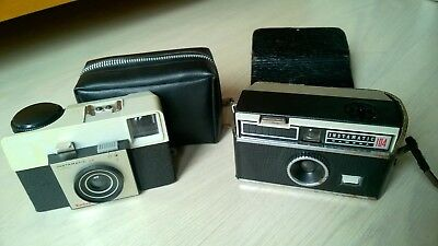 2 x Vintage Kodak Instamatic 25 & 104 Camera