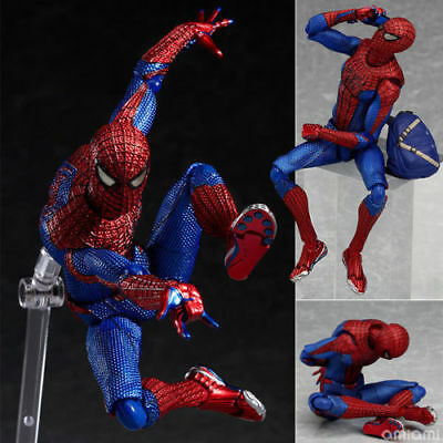 """6"""" Marvel Figma No.199 Spiderman PVC The Amazing Spider-man Action Figure Toy"""