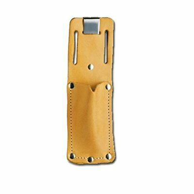 Pacific Handy PCUKH326 Cutters Tan Leather Sheath Holster with Clip Knives Hand