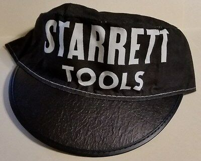 L.S. Starrett Hat ~ Starrett Tools Hacksaws Band Saws Advertising
