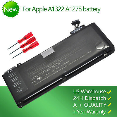 """NEW Genuine A1322 Battery For Macbook Pro 13"""" A1278 Mid 2009/2010/2011/2012 USA"""