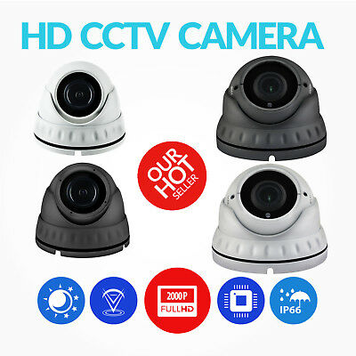 Dome Cctv Camera 2.4Mp Varifocal 2.8-12Mm Tvi Ahd Cvi Cvbs Full Hd 1080P Outdoor