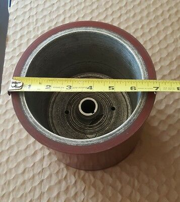 Huge Belt Sander Pulley 6 7/8 Diameter