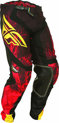 NEW Fly Racing Lite Hydrogen motocross MX BMX riding pants mens sz 32 black red