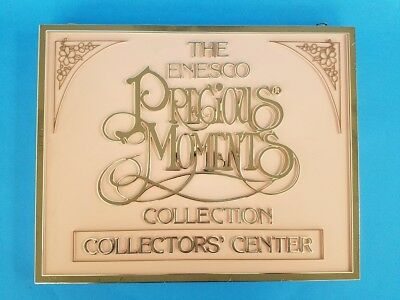 Precious Moments Collection Pink Plastic Store Display Sign Collectors' Center