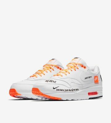 d7f1f9cb98 NIKE AIR MAX 1 JDI Just Do It Pack White Size 13 Mens LIMITED 100 ...