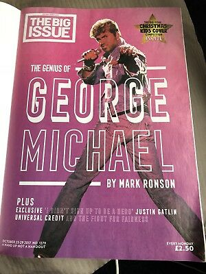 The Big Issue 1279 October 23-29 2017 George Michael