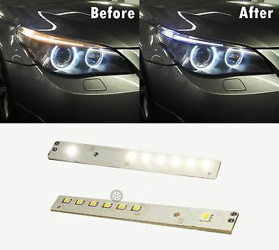 2008-2010 BMW E60 SMD LED Angel Eye Eyelids Upgrade Module, 7000K