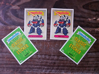 NEW Garbage Pail Kids Cards GPK We Hate the 80s Classic 80s 1ab Set New Wave