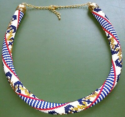 Necklace Decoration made of beads, exclusive handmade in a single copy