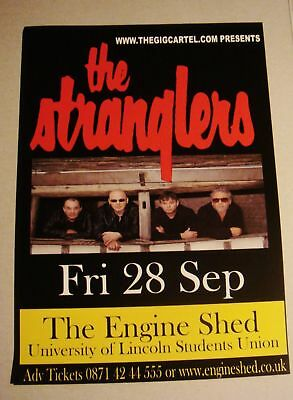 The Stranglers A5 Concert Flyer, Lincoln 2007 - Mint Condition