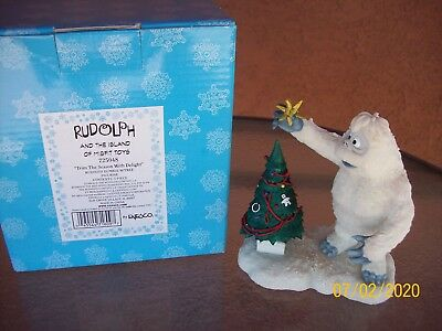 Enesco Rudolph & The Island of Misfit Toys-Bumble w/Tree #725048