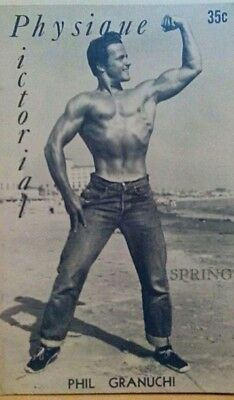 Physique Pictorial Spring 1956 Gay Interest magazine