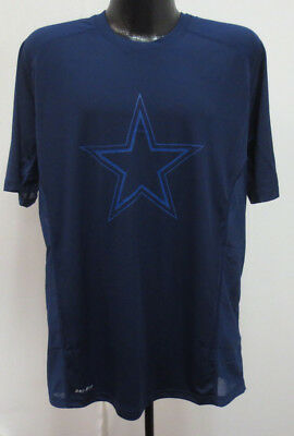 Nice NIKE ROMO #9 DALLAS COWBOYS REGULAR FIT T SHIRT SZ SMALL BLUE z1  for cheap