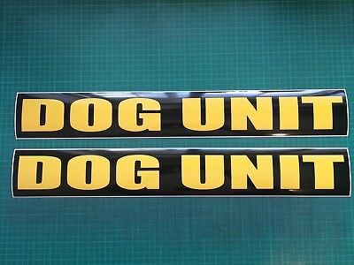 DOG UNIT MAGNET MAGNETIC K9 SITE SECURITY PATROL Handler  620mm x2