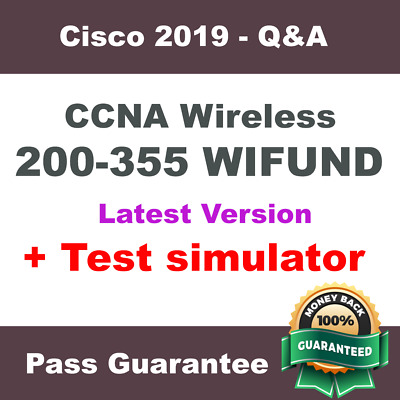 Cisco CCNA Wireless Exam Dump for WIFUND 200-355 Exam Q&A PDF + VCE Simulator