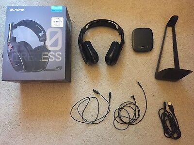 Astro A50 (1st Generation) Black/Red PC/XBOX/PS3 Wireless Gaming Headset