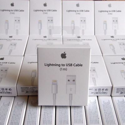 10X LOT - OEM Original Lightning USB Charger Cable For Apple iPhone 6 6s 6 Plus