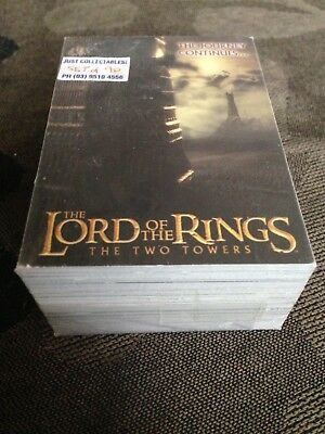 The Lord of the Rings The Two Towers TOPPS collector cards! SEALED!