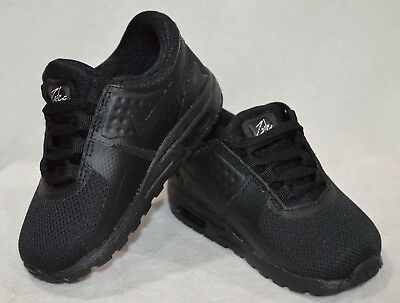 Nike Air Max Zero Essential (TD) Black Toddler Boy's Sneakers Assorted Sizes NWB