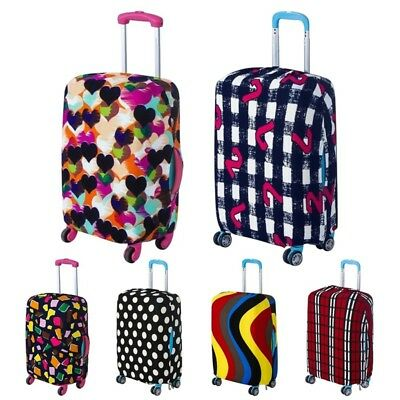 "18-29"" Elastic Travel Luggage Cover Spandex Dust-Proof Suitcase Protector Bag"