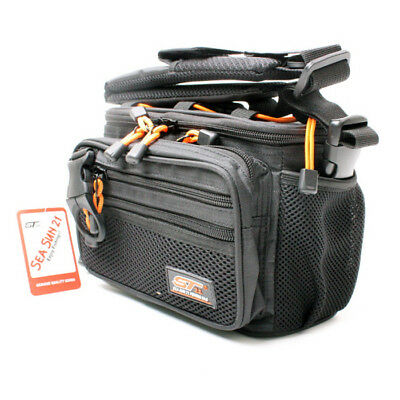 Fishing Tackle bag Lure bag Tackle box ×2include ST-90 Black