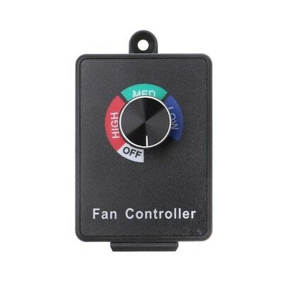 AC 120V 5A Fan Variable Speed Controller Motor Electric Rheostat for Hydroponics