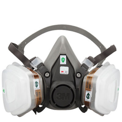 7 in 1 Suit Half Face For MC 6200 Gas mask Spray Painting Protection Respirator