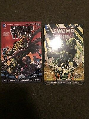Swamp Thing TPB New 52 Dc Comics Scott Snyder