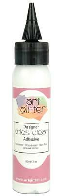 Designer Dries Clear Adhesive Glue Art Glitter Industrial Strength 60ml 2oz