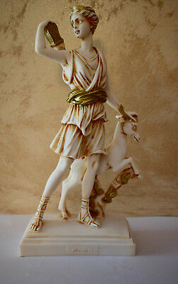 Statue Artemis The Goddess Of The Hunt, Forests And Hills