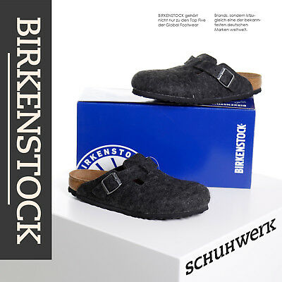 Birkenstock Pantolette Boston BS 160373 anthrazit