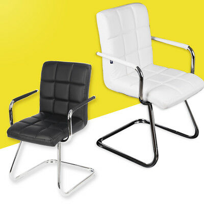 Client PU Leather Style Home Office Visitor Meeting Boardroom Chair Customer New