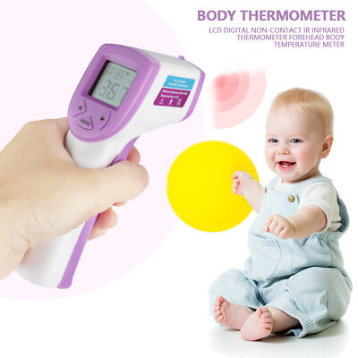 Digital Non-Contact IR Infrared Forehead Body Clinical Thermometer For Baby Kid