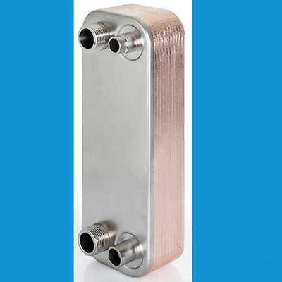 Stainless Steel Heat Exchanger Cooler Brewing Brazed Plate Type Evaporator