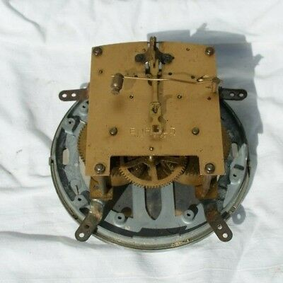 Vintage ENFIELD Mantel Clock Movement With Face & Bezel, Spares/Repair