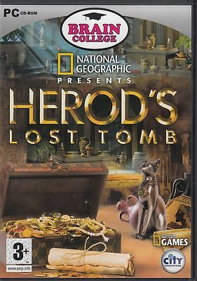 National geographic greeting cards pc cd rom 345 picclick uk national geographic herods lost tomb pc good cd rom games m4hsunfo