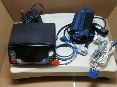 Honeywell HomMed Telmon Unit-Ref.#: 6050000A1 w/ BP Cuff, Oximeter, PS and Scale