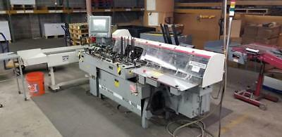 Mailcrafters Edge II series model 9800 six station inserter with conveyor