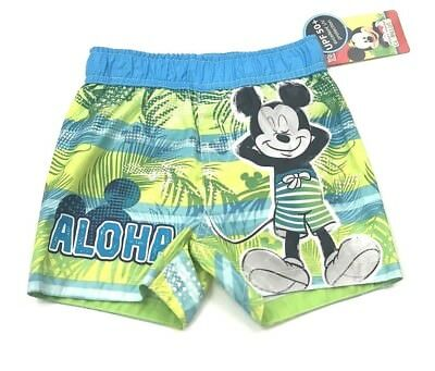 MRSP $18.00 New Disney Set Of 2 Infant Boys Swim Bloomers by Junk Food UPF50