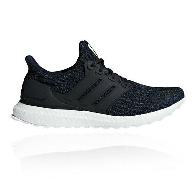 89fe3be7d1b17 adidas Mens UltraBoost Parley Running Shoes Trainers Sneakers Black Sports
