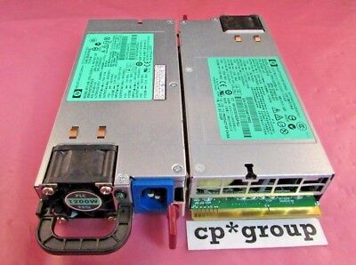 LOT OF 2 HP 1200W Server Platinum Power Supply 579229-001 570451-001 578322-B21