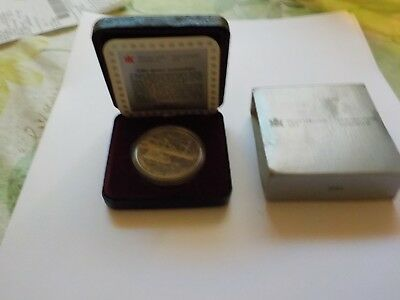 1991 $1 Canada Silver Proof Dollar Frontenac Steam Ship Canadian - RCM CDN Selle