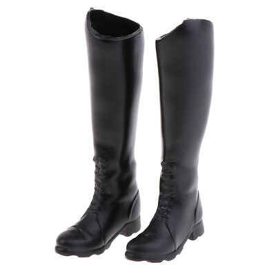 For 12 Inch Action Figure Phicen Kumik Doll Shoes Mid-calf Knee High Boots